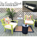 Backyard Makeover Chronicles – Patio Furniture Refresh for Under $20