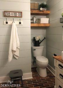 Farmhouse Bathroom After
