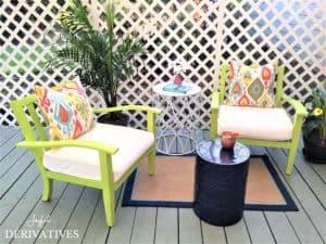 Patio Furniture Refresh