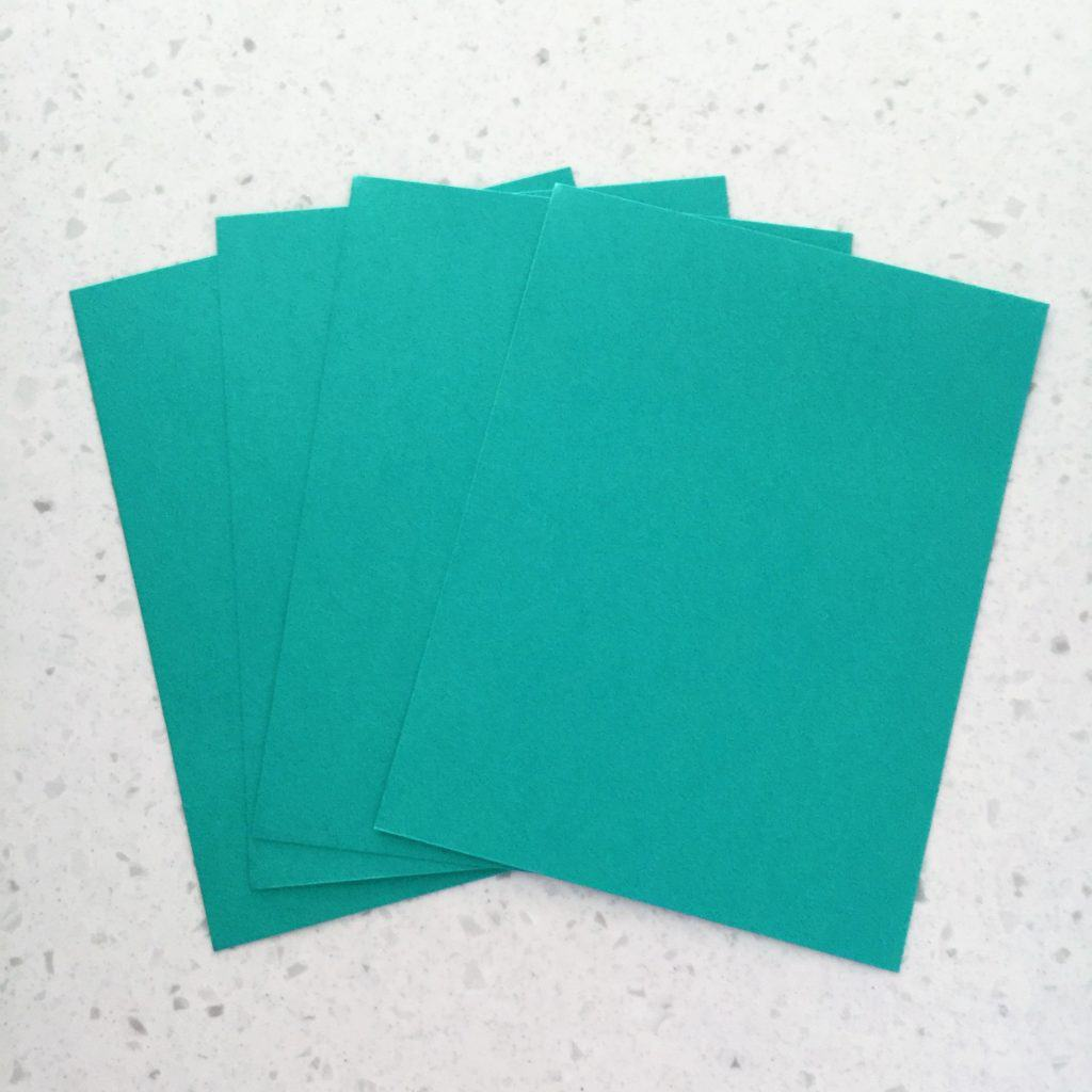 next cut out the white invitations using your paper cutter to trim inside the black outline of each one and use your corner rounding punch to round the - Printable Colored Paper