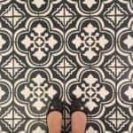 Farmhouse Bathroom Makeover ORC Week 6 – The Floor